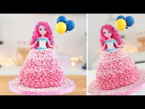 Pinkie Pie Doll Cake - My Little Pony - Equestria Girls - Tan Dulce