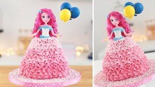 Pinkie Pie Doll Cake  My Little Pony  Equestria Girls  Tan Dulce