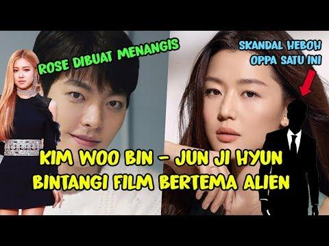 FILM  BARU KIM WOO BIN - JUN JI HYUN ❤️ MENGAPA ROSE BLACKPINK MENANGIS 😥 KASUS HEBOH AKTOR  INI 😡