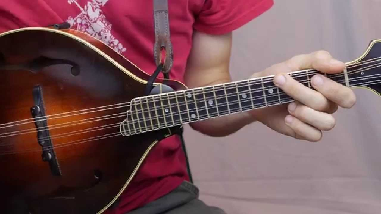 Wayfaring Stranger (With Tabs) - Mandolin Lesson - YouTube