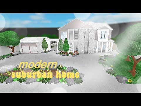 Roblox Bloxburg Modern Family Suburban Home Name Change