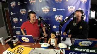 Dunc And Holder on Sports 1280 in New Orleans. February 21, 2018