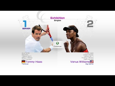 virtua-tennis-4-sega-tommy-haas-vs-venus-williams-rafael-nadal-roger-federer-andy-murray
