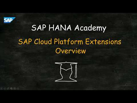 SAP HANA Academy - SAP SFSF Extension Administration #1.1 SAP Cloud Platform Extensibility Overview