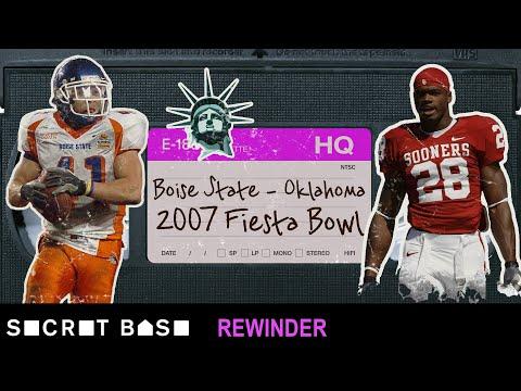 Boise State's legendary Statue of Liberty play vs. Oklahoma needs a deep rewind | 2007 Fiesta Bowl