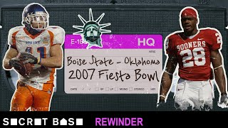 Boise State's legendary Statue of Liberty play vs. Oklahoma needs a deep rewind | 2007 Fiesta Bowl