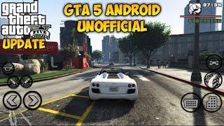 KEREN BANGATT!! GTA 5 ANDROID UNOFFICIAL   Buruan Download!!