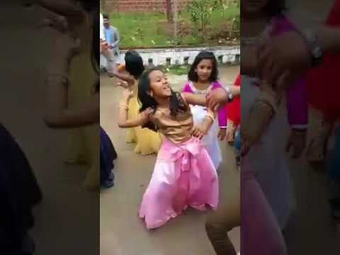 Baby Girl Dancing Superbly At Bonalu Festival In Hyderabad Telangana