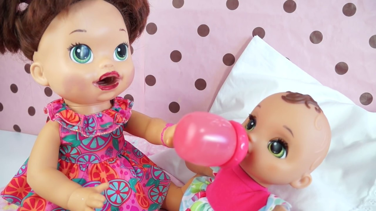 Baby Alive Virou Mamae Minha Boneca Ganhou Um Bebe Youtube