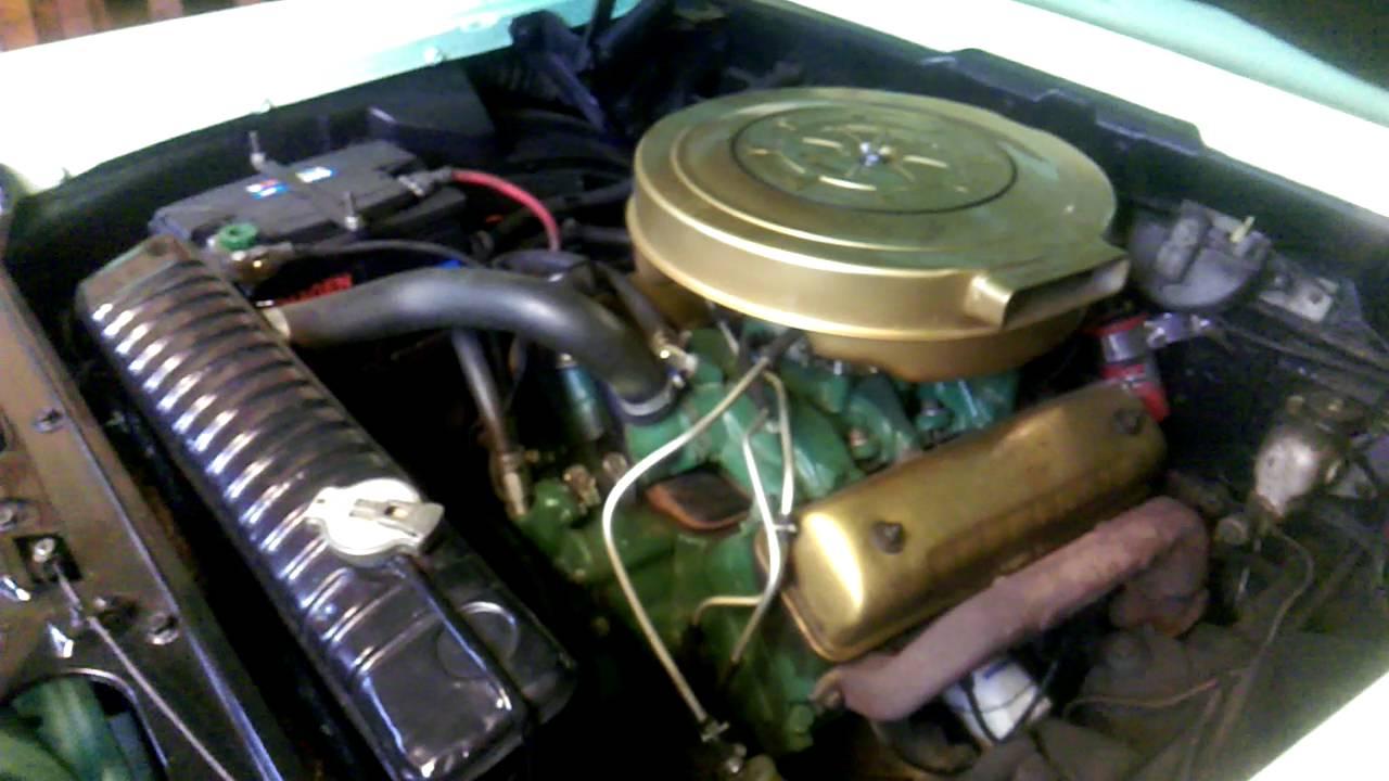 Edsel Ranger 1959 292 Y - block Engine - YouTube
