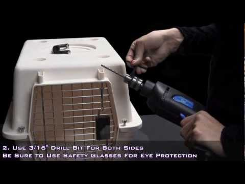 """Pets On Airplanes: """"How To Modify Your Pet Carrier For Airline Approval"""""""