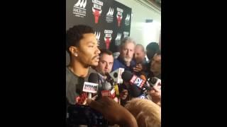 Derrick Rose press conference