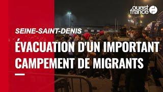 Seine-Saint-Denis. Évacuation d'un important campement de migrants au pied du Stade-de-France