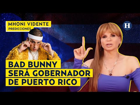 MHONI VIDENTE revela que BAD BUNNY será GOBERNADOR de PUERTO RICO
