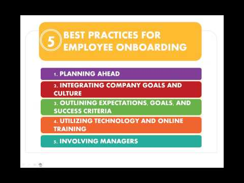 Onboard, Not Overboard  Accelerating New Hire Training   Webinar 11.06.2014