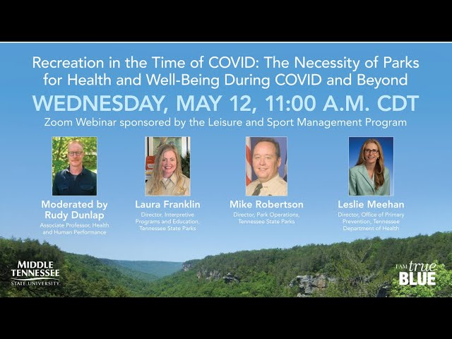 Recreation in the Time of COVID: The Necessity of Parks for Health and Well-Being