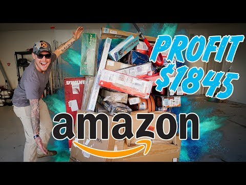 Mystery Amazon Return Crate Unboxing  - $1845 in Profit