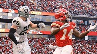 NFL Today 12/1 Kansas City Chiefs vs Oakland Raiders Full Game   NFL Week 13 (Madden)