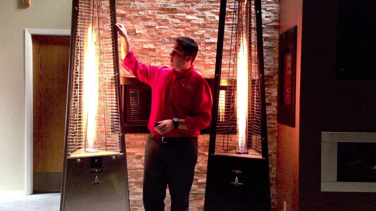 Lava Heat Italia Outdoor Patio Heaters Product Review   YouTube