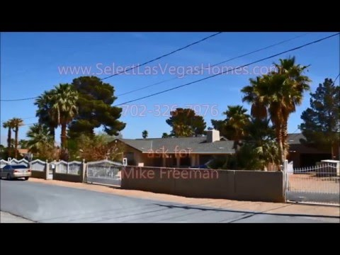 Vegas American Global horse property HOME FOR SALE