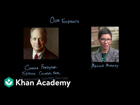Roe v. Wade | Civil liberties and civil rights | US government and civics | Khan Academy