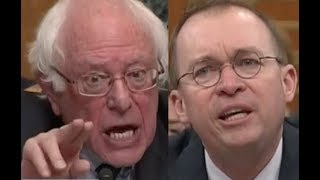 """PEOPLE WILL DIE!!!"" Bernie Sanders DESTROYS Trump Lackey Mick Mulvaney on Trump"