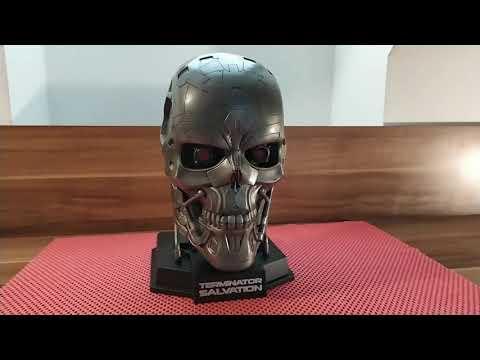 Download Terminator Salvation blu ray edition skull head T-600