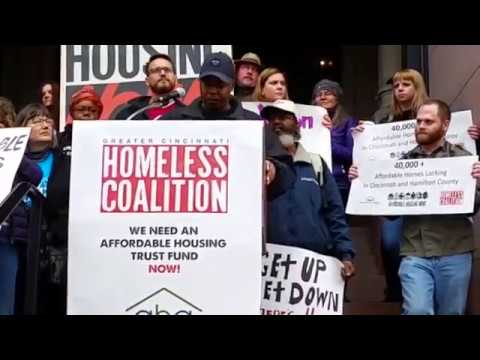 Full National Day of Action for Housing 2017 Cincinnati