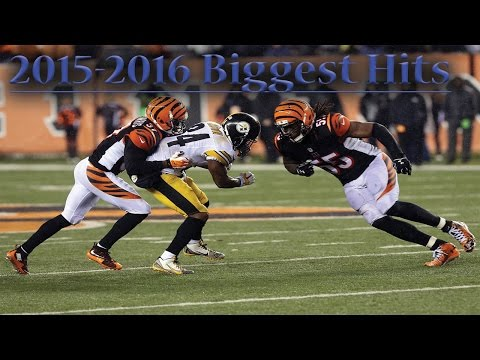 "NFL Biggest Hits of the 2015-2016 Season ᴴᴰ || ""Bone Crushing"""