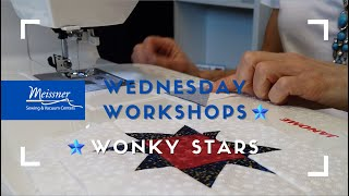 Workshop Wednesday: Wonky Stars Quilt