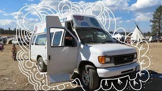 Vanlife Tour | 2006 Ford Econoline Handicap Self Built Conversion
