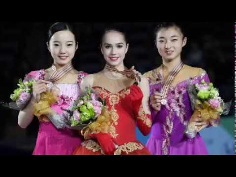World Junior Figure Skating Ladies 2017, 2015, 2014.. Winners