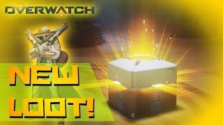 Overwatch Unboxing | Opening Legendary and Epic Loot Box! Awesome Legendary Skin!