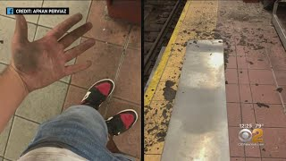 MTA Subway Maze Of Dangerous And Disgusting Flooding, Falling Metal