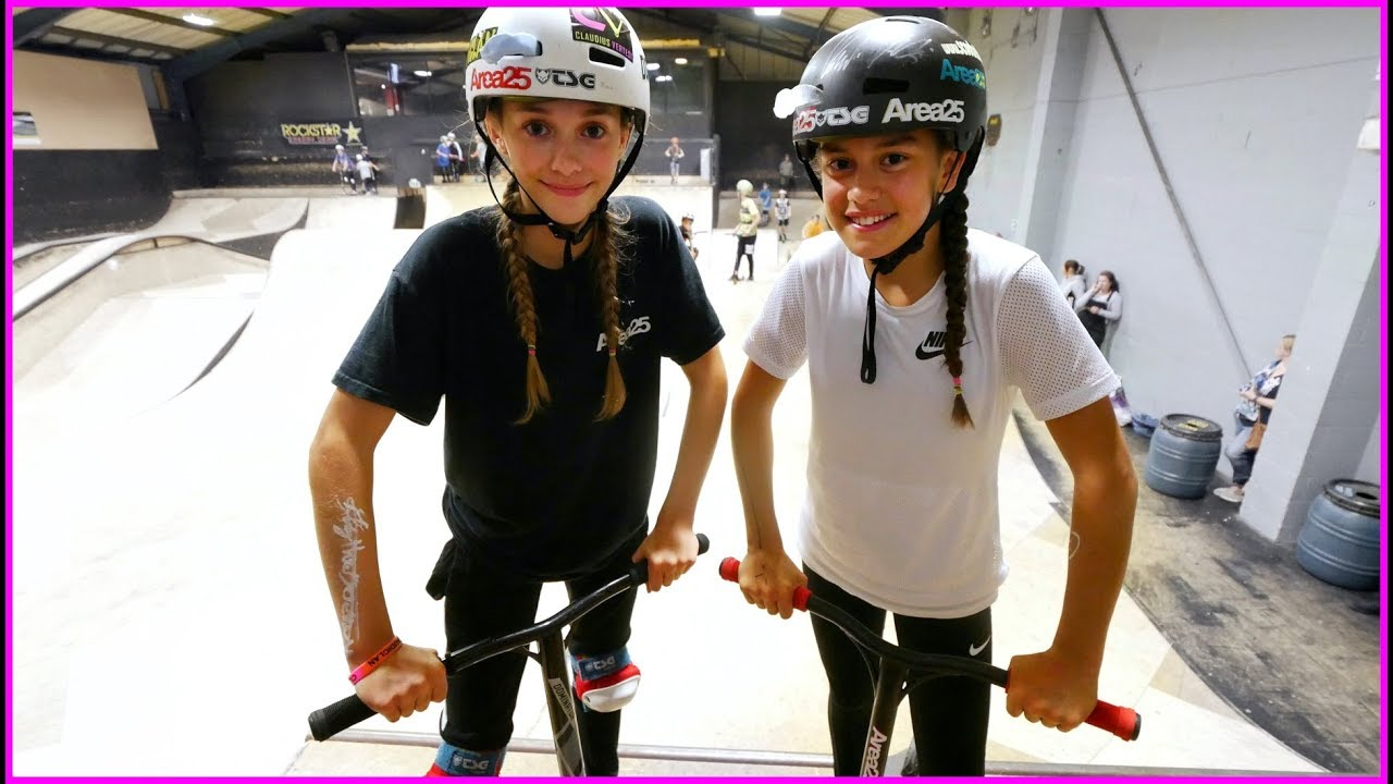 Extreme Girl Pro Game Of Scoot Youtube