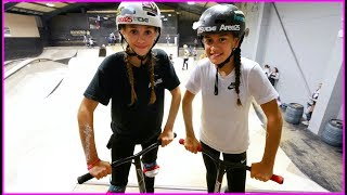 EXTREME GIRL PRO GAME OF SCOOT!