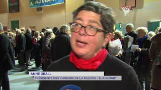 Concert de Noël : les choeurs de la Pléiade chantent pour SQY