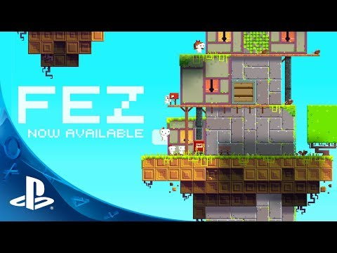 FEZ  on PS4, PS3, and PS Vita - Official Launch Trailer