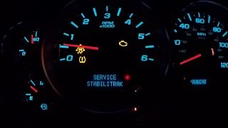 DIY FIX! GMC/Chevy Stabili Trak, Traction Control, and Blinking Engine light