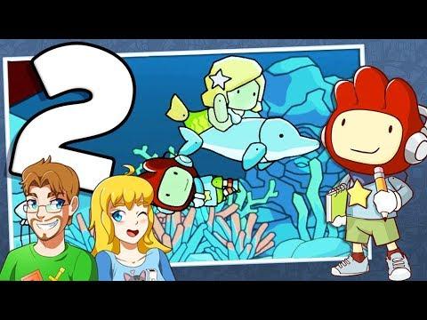 Scribblenauts Showdown Walkthrough Part 2 Ocean Liner (All Starites) PS4 Gameplay!