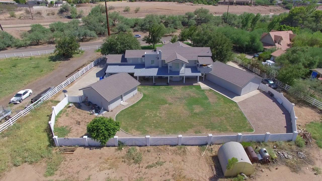Mesa, AZ Home For Sale: 4 Bed Home + 2 Bed Guest House On Large Lot w/  Horse Privileges