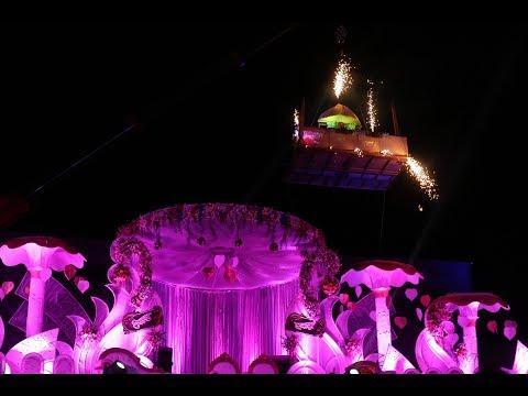 Ekta & Tejas Reception Entrance | Jodha Akbar | SumeSh Mhatre