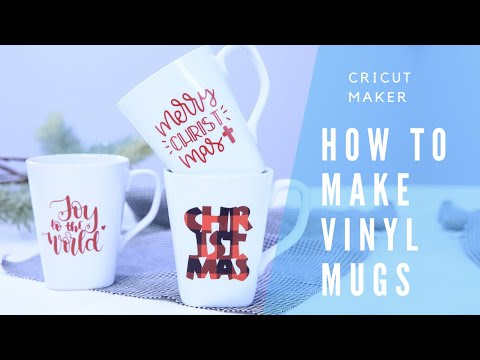 How To Make Vinyl Mugs With Cricut Maker