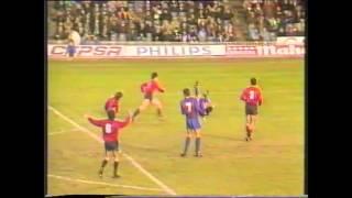 Ezaki Badou para penalti a Ronald Koeman Temporada 1989   1990