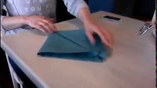 Сложить салфетку, 5 способов Table setting, tableware couvert