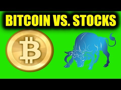 Investing in Bitcoin vs. Investing in the Stock Market - Retiring as a Millionaire?
