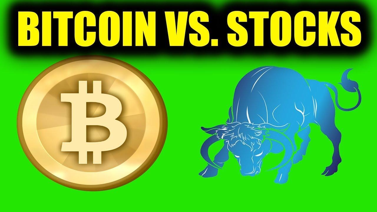 bitcoin vs stocs)