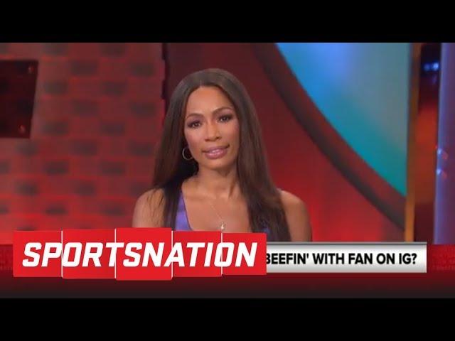 Kevin Durant still beefing with fans on social media | SportsNation | ESPN