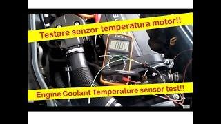 Сензор температура двигуна Опель Корса з Z12XE--датчик температури охолоджуючої рідини