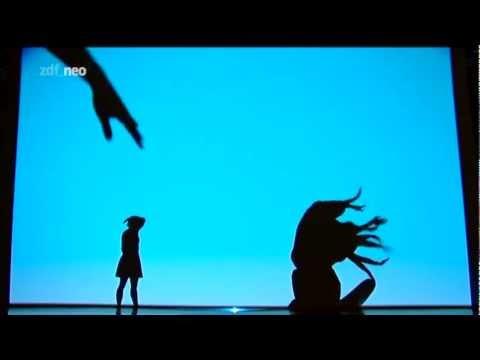 Show de sombras, espetacular, divino.